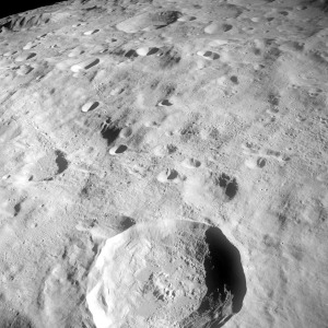 Lunar Surface from Apollo 8