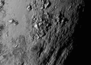 Norgay Montes -  Ice Mountains on Pluto